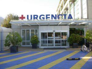 Door installation service for hospital