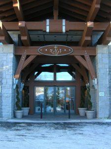 Sliding door in Lodge Burlington, London, Ottawa | Texas Access Controls
