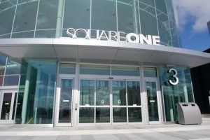 Sliding door in Square One - Automatic sliding door systems By Texas Access Controls