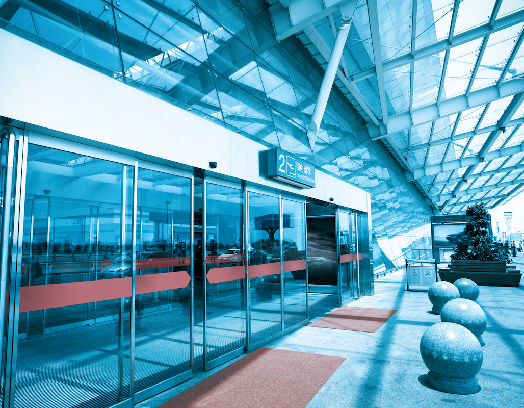 Terminal Sliding Doors- By Texas Access Controls