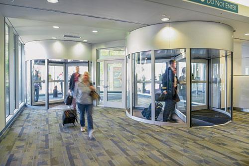 Texas Access Controls Revolving Door Sensors Error-Free