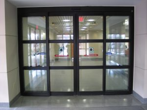 Paoli Hospital ICU Door
