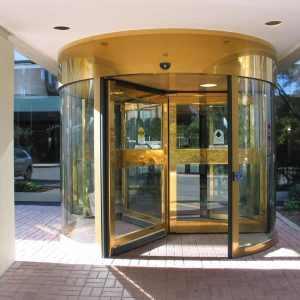 Revolving Door in Residential Building Ottawa, Burlington, London - Automatic Doors Ontario
