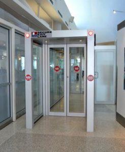Texas Access Controls secure exit lane