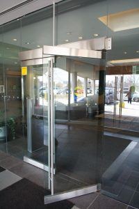 Automatic swing doors provided by Texas Access Controls