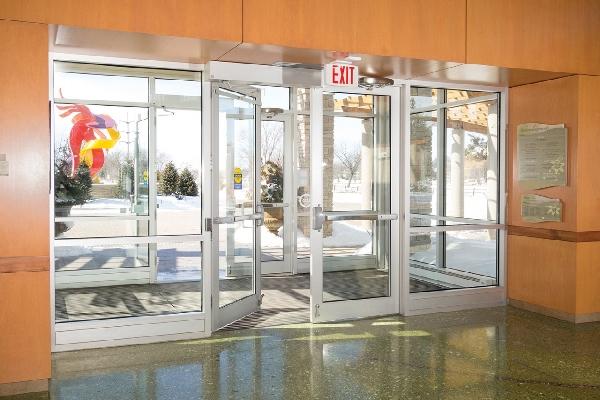 Texas Access Controls swing doors