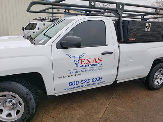 Texas Access Controls Vehicle