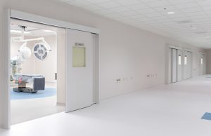 Automatic Doors in ICU