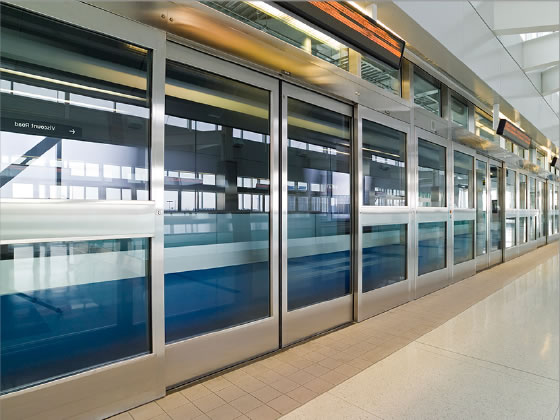 Railway Platform Screen Doors Texas