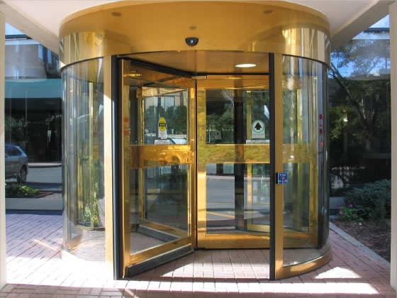 Revolving Door System Texas