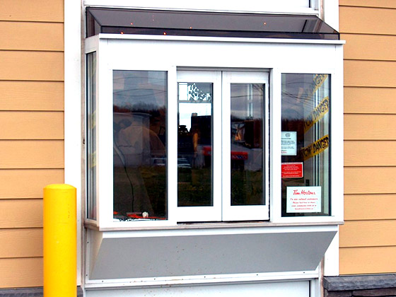 drive-thru window from Texas Access Controls