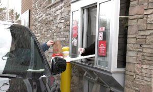 Drive-Thru window