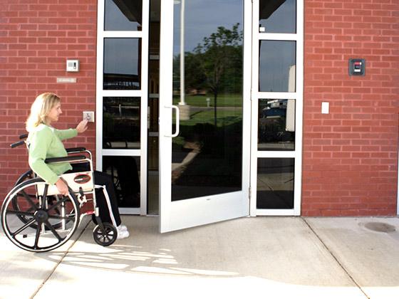 handicap door openers from texas access controls