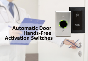 Automatic door hands-free activation switches from Texas Access Controls