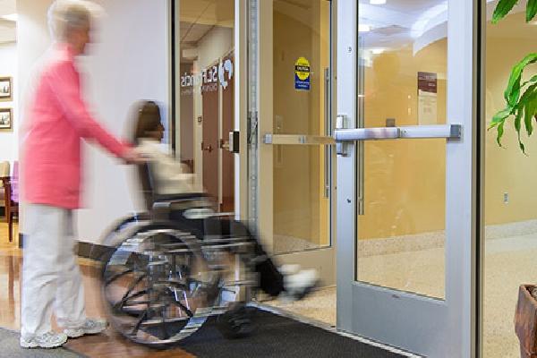 Texas Access Controls hands free door opener
