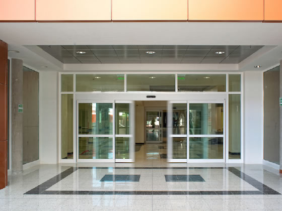 After Installation Automatic Doors - Texas Access Controls